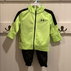 Under Armour 9-12 month track suit